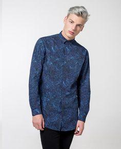 2078091a Texture Print Shirt - Local Pattern - 5 Diseño De Impresión, Textura,  Camisas Estampadas