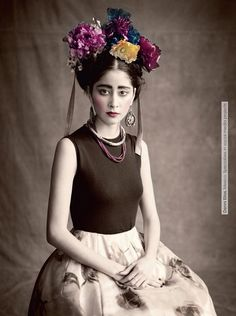 Multi-Ethnic Gallery' by Paolo Roversi for Vogue Italia January 2013