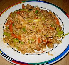 Chinesischer Bratreis Chinese roast rice, a delicious recipe from the rice / cereals category. Uk Recipes, Curry Recipes, Asian Recipes, Cooking Recipes, Easy Recipes, Chicken Parmesan Recipes, Chicken Salad Recipes, Whole30 Recipes Lunch, Avocado Salad Recipes