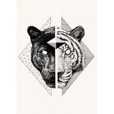 small tiger tattoo - Nikita and Shazam Print Tigeraugen Tattoo, Type Tattoo, Leg Tattoos, Tattoo Drawings, Small Tattoos, Tattoos For Guys, Sleeve Tattoos, Tatoo Tiger, Cheetah Tattoo