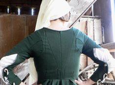 Grünes Kleid, ausgehendes 15. Jh, Schweiz