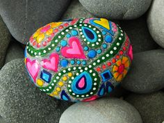 Spring Fever / Sea Stone from Cape Cod. $45.00, via Etsy.