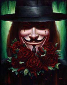 The Geeky Nerfherder: Movie Poster Art: V For Vendetta V For Vendeta, The Fifth Of November, November Poem, Gremlins, November Wallpaper, Happy V Day, Guy Fawkes, Desenho Tattoo, Bonfire Night
