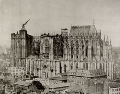 Michiels, Johann Franz: Die Südseite des Kölner Domes 1853