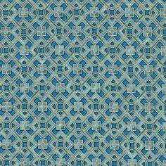 Robert Kaufman Fabrics: SRKM-15836-9 NAVY from Grand Majolica