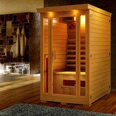 Buy Taavi 2 Person Ceramic Infrared Sauna Online Australia