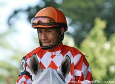 Sitting at 998 career wins, jockey Paco Lopez is only two victories away from his winning milestone. Lopez pumped out two wins Saturday at Monmouth Park. Thoroughbred, Victorious, Riding Helmets, Racing, Career, Friday, Park, Carrera, Auto Racing