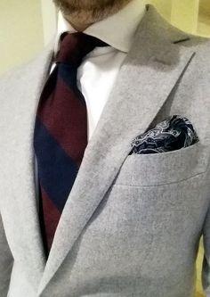 @shibumi-berlin burgundy and blue garza fina grenadine tie. #shibumiberlin#menswear#ootd#gentlemenscholarsclub