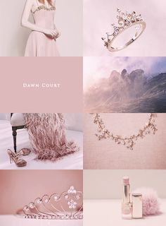"Courts of Prythian aesthetic: ""Dawn Court """