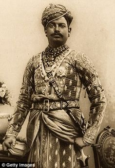 Umed Singh II, maharajah of Kota, circa 1902 http://www.pinterest.com/maryannxavier/going-back-in-time/