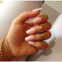 Stiletto Nails Nails ❤ liked on Polyvore featuring beauty products, nail care, nail treatments and nails
