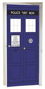 BBC Doctor Who The Tardis Police Box Door Cling Decal / Mural Lady Sandra http://www.amazon.com/dp/B00EANEJD2/ref=cm_sw_r_pi_dp_nszevb0D7CZWP