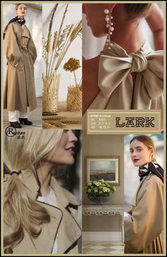 """"""" Lark """" Pantone – Spring/ Summer 2020 Color- by Reyhan S. Color Trends, Color Combos, Spring Fashion Trends, Casual Chic Style, Fashion Colours, Color Card, Pantone Color, Color Theory, Spring Dresses"""