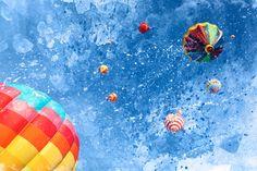 Acrylic Air Balloons - Exclusive Mixed Media by somadjinn on DeviantArt