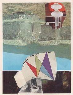 """Tanz der Götter II,"" original abstract collage by artist Micosch Holland (Germany) available at Saatchi Art #SaatchiArt"