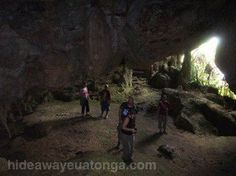 one of the caves at Fangatave, 'Eua