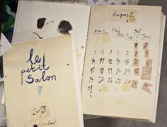 Image of Le Petit Salon Calendar 2015 Good People, Calendar, Joy, Spaces, Boutique, My Favorite Things, Image, Drawing Rooms, Glee