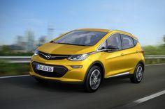 Opelilta tulee uusi sähköauto