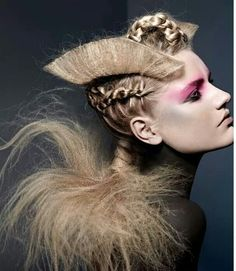 Artistic #hairstyles
