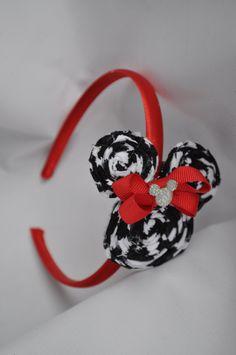 Minnie Mouse headband by KARMELLA4200 on Etsy, $12.00