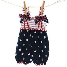 Smocked Top Bubble Romper http://shop.crackerbarrel.com/Smocked-Top-Bubble-Romper/dp/B01CTH16LI