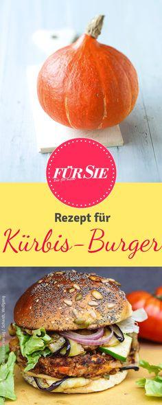 Mit unserem Rezept für Kürbis Pattys macht ihr den perfekten Kürbisburger