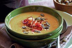 Polévka ze žlutého hrachu s mrkví