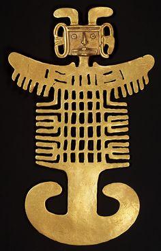 Costumed figure pendant [Colombia; Tolima] (1979.206.497) | Heilbrunn Timeline of Art History | The Metropolitan Museum of Art
