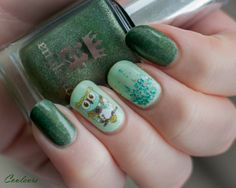 ablecaw14, A England Dragon, OPI Gargantuan Green Grape