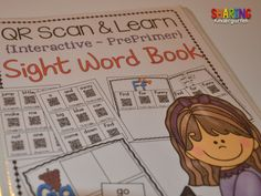 Sight Word QR Codes