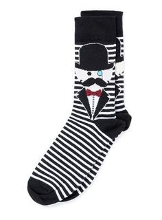 Charlie Chaplin Socks     $6.00
