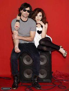 Pete Yorn and Scarlett Johansson