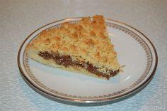 sbriciolata alla nutella Cooking Master Chef, Nutella, Quiche, Pie, Yummy Food, Dishes, Breakfast, Desserts, Recipes
