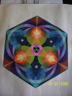 Trang trí hình lục giác