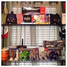 Interesting one by day2daygaming #nes #microhobbit (o) http://ift.tt/1Qbge0N got the top shelf the way I want it ----------------------- #nintendo64 #nintendope #igersnintendo #retro #retrogamers #oldschool #wii #ps1 #ps2 #ps3 #gamers #snes  #snestalgia #gamecube #gba #gbc #pokemon #ninstagram #n64 #retrocollectiveusa #nintendolife #like #follow #fun #play #followme #love