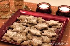 Galletas integrales con nueces ¡Buenísimas! Galletas Cookies, Dessert Recipes, Desserts, Cereal, Pan Integral, Favorite Recipes, Breakfast, Sweet, Food