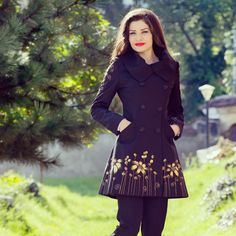 Fall coats...sweet and handmade