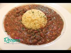 Slow Cooker Red Beans and Rice | I Heart Recipes