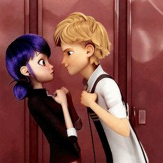 Find images and videos about gif, miraculous ladybug and Chat Noir on We Heart It - the app to get lost in what you love. Miraculous Marinette, Miraculous Cat Noir, Adrien Miraculous, Adrian And Marinette, Marinette Et Adrien, Miraculous Ladybug Wallpaper, Miraculous Ladybug Fan Art, Meraculous Ladybug, Ladybug Comics