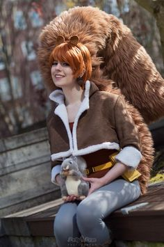 The Unbeatable Squirrel Girl Cosplay by TypicalUnicorns & TV Epic Cosplay, Cosplay Girls, Cosplay Costumes, Awesome Cosplay, Squirrel Costume, Unbeatable Squirrel Girl, Bishoujo Statue, Islamic Bank, Marvel Entertainment