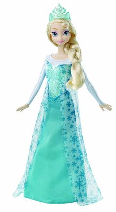 Elsa The Disney Frozen Sparkle Doll