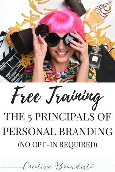 5 principals of personal branding FREE training for creative women and mompreneurs to grow an authentic online business. Follow me for more success tips, blogging, social media and personal branding resources.