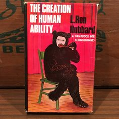 The Creation of Human Ability by L. Ron Hubbard Vintage Hardcover Book with Dust Jacket 1976 Dianetics Church of Scientology by vintagebaron on Etsy