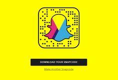 #Snapchat : #snapcode vers un site web, publicités Snap Ads en libre-service…