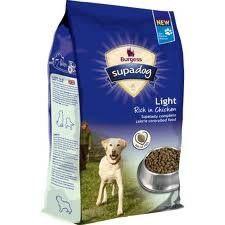 Burgess Supadog Light Dog Food 2kg