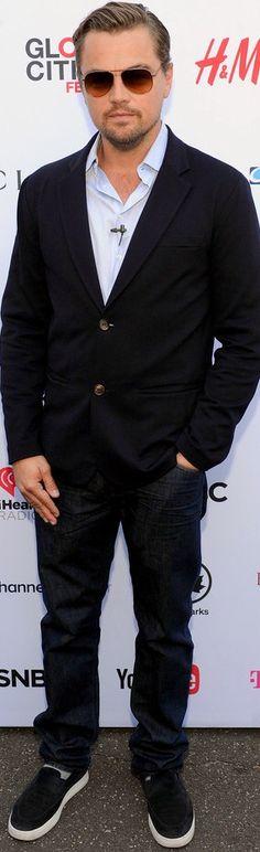 9/26/15 - Leonardo DiCaprio at the 2015 Global Citizen Festival in NYC.