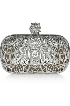 Alexander McQueen Cathedral Skull Brass Box Clutch...wow, amazingly beautiful...very Rivendale