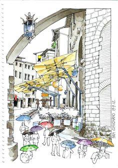 urban sketchers | Urban Sketchers Buenos Aires | Sketchbooks