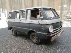 Dodge A-100 Van By: Tom Geiger
