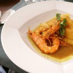 O Caril de Peixe e Camarão da Semana de Macau do Tryp Oriente